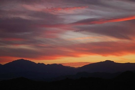 Las Nuevas Alora: Sunset