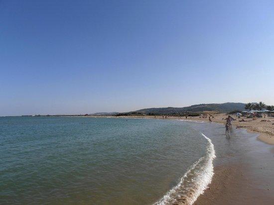 Hotel Poseidon & Nettuno: spiaggia verso sud