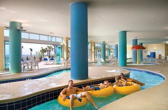 Bay View on the Boardwalk: Indoor lazy river
