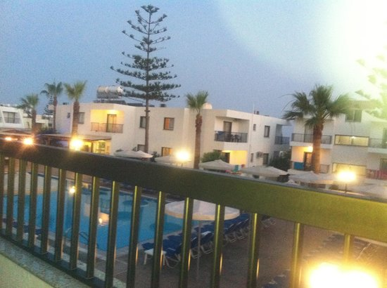 Christabelle Hotel Apartments : Balcony view