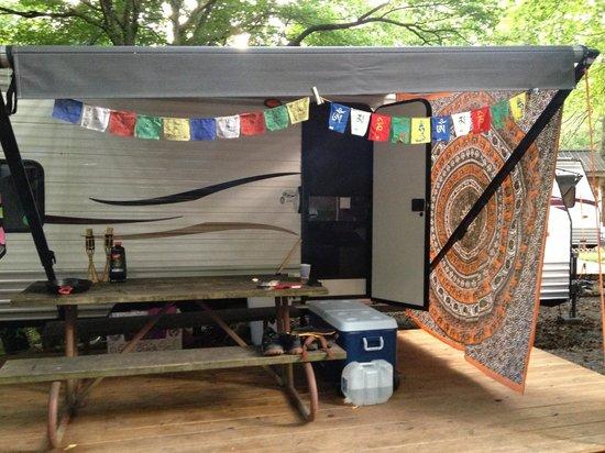 Adventure Bound Camping Resort - Gatlinburg : our RV