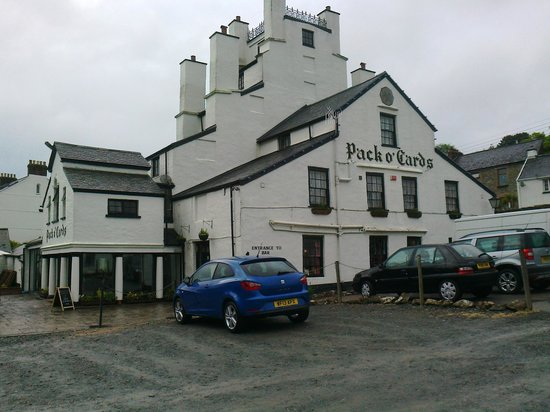 Pack o' Cards Inn: Not the best weather