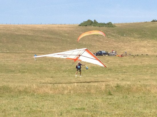 West Firle, UK: Another safe & soft landing !!