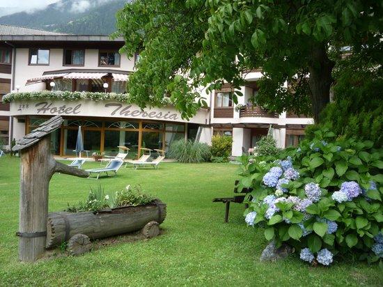 Hotel Theresia: vista del giardino