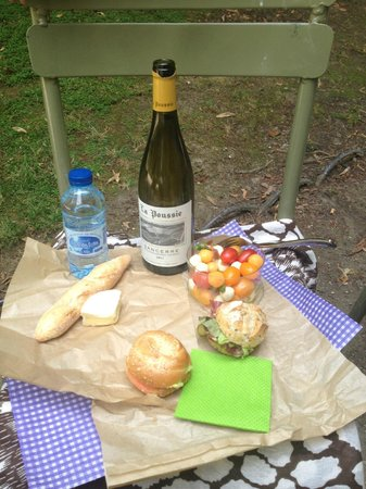 Maison Francart: Picnic lunch from Francart (minus the wine)