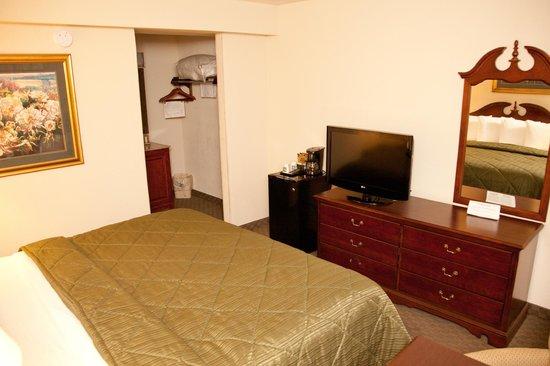 Quality Inn Savannah Historic District: Standard King Room