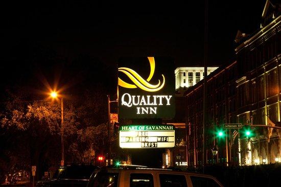 Quality Inn Savannah Historic District: Quality Inn
