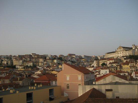 Hotel Oslo Coimbra : Dal terrazzino