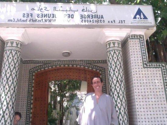 Youth Hostel Fes: Abdellah!!!