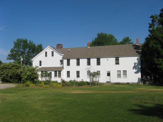 George Perley House : View from Lawn