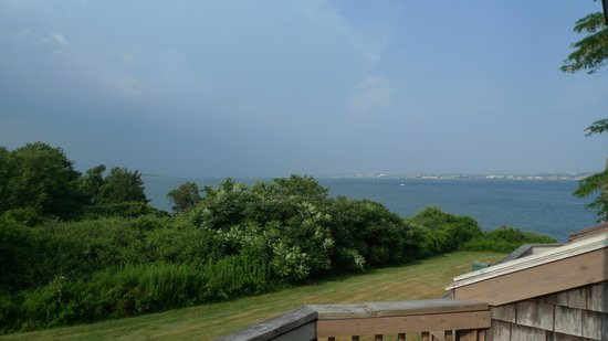 Wyndham Newport Overlook: View from deck