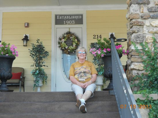 The Branson Hotel : Front Porch