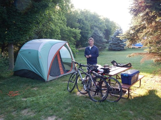 Tunnel Trail Campground: Nice & secluded