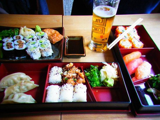 Sushibar: Sushi lunch