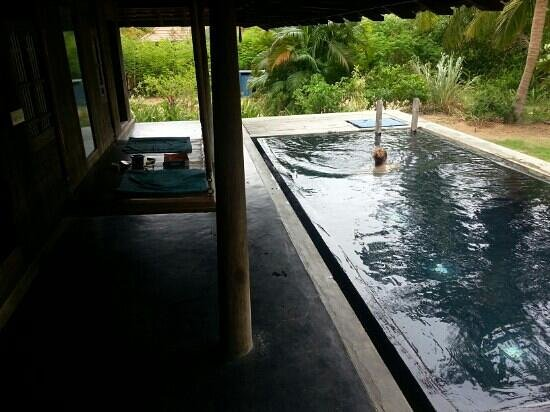 The tower picture of the dune eco village spa pondicherry tripadvisor for Villas in pondicherry with swimming pool