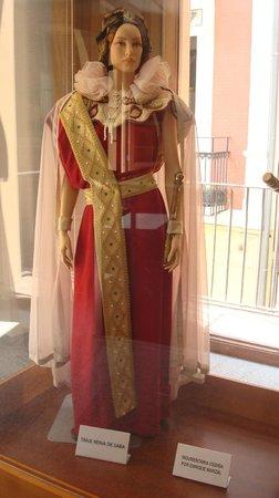 Museo del Corpus Casa de las Rocas: Costume
