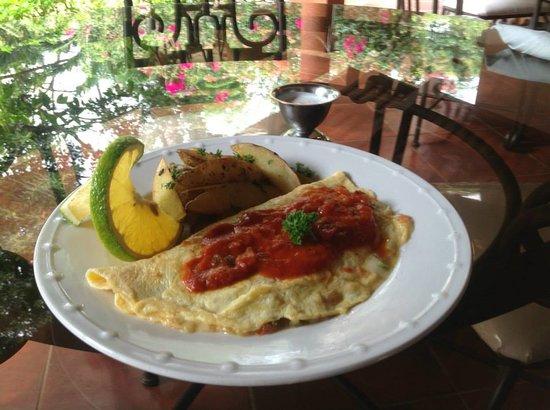 Hotel Boutique Villa Maya: Omelet