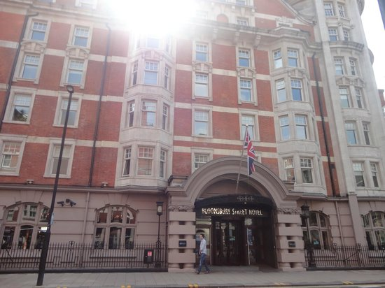 Bloomsbury Hotel London Check In Time
