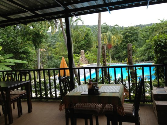 Supsangdao Resort : Perfect view from breakfast bar