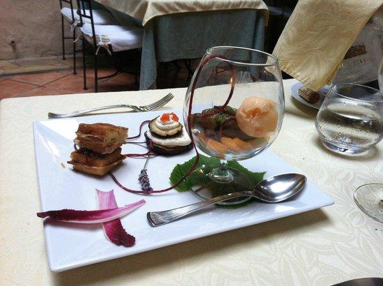 Assiette principale terre et mer photo de la table d 39 emilie marseillan tripadvisor - Restaurant la table d emilie marseillan ...