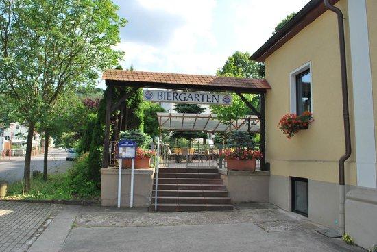 Hotel Thalfried: Biergarten