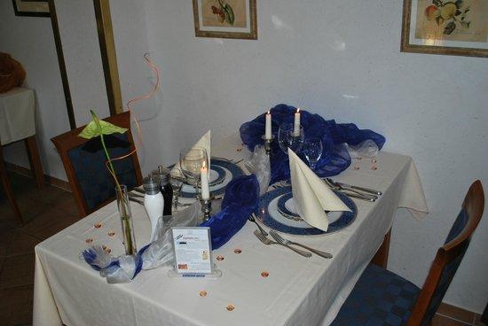 Hotel Thalfried: Schön eingedeckter Tisch