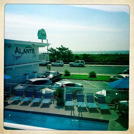 Alante Oceanfront Motel : The Alante Beachfront Motel