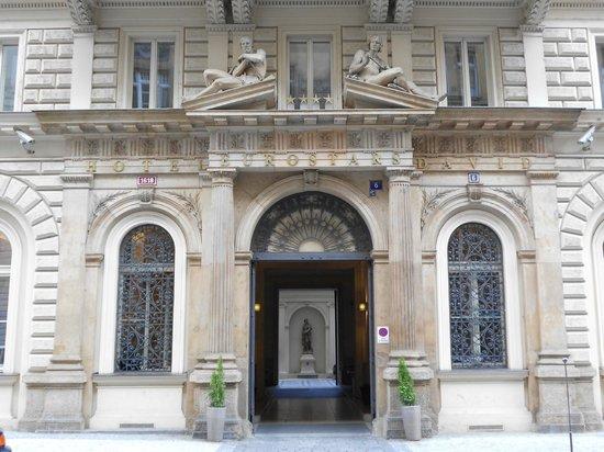 Eurostars David: facciata esterna dell'Hotel