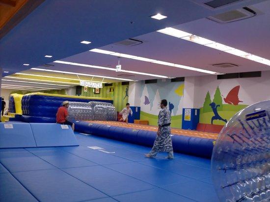 Ryugujo Hotel Mikazuki: お祭りランドのキッズルーム