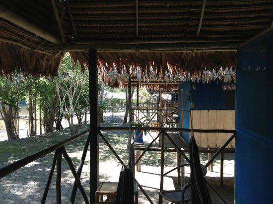Muyuna Amazon Lodge: room outside