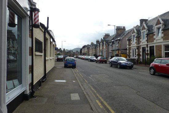 View of Greig Street near Armadale Guest House