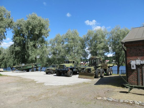 Museo Militaria: Some military vehicles