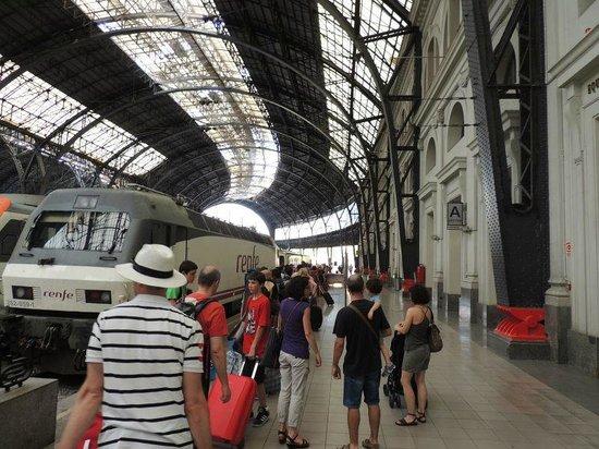 Trenhotel Salvador Dali: The Trenhotel at Barcelona's Estacio de França