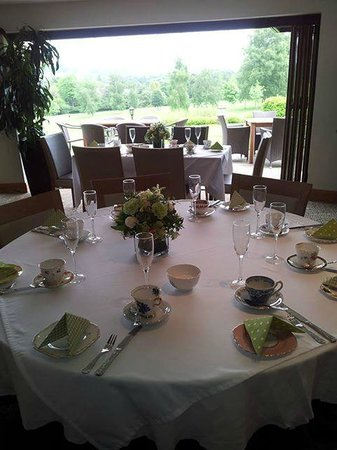 Bramley Golf Club: The restaurant opening out onto the terrace