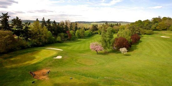 Bramley Golf Club: The 2nd and 3rd holes at Bramley