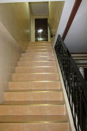 Crown Regency Residences Davao: stairs leading to the rooms