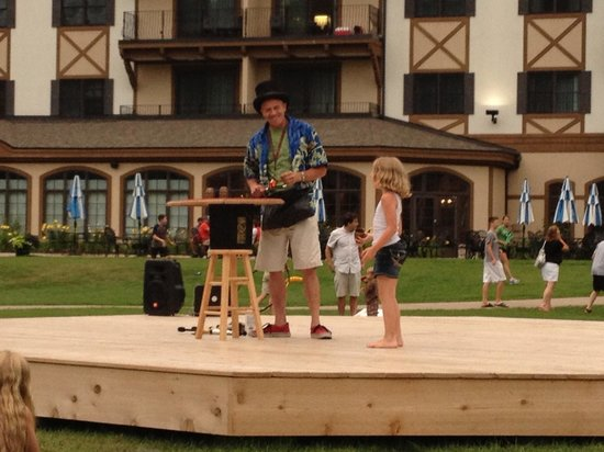 Boyne Mountain Resort: The magic show