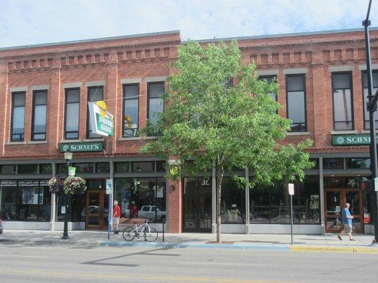 Downtown Bozeman: Schnee's Powderworks Outdoor Store