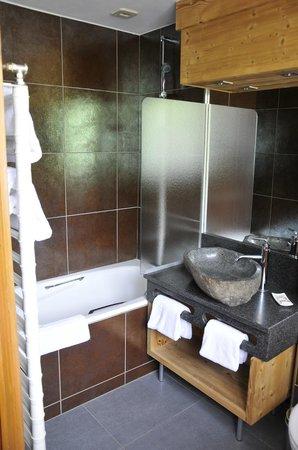 Hotel Beauregard: La salle de bain