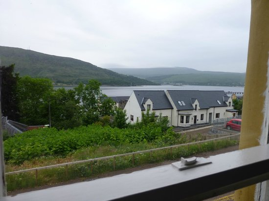 Gowan Brae House: View of Loch Linnhe from Room 1 (top floor twin)