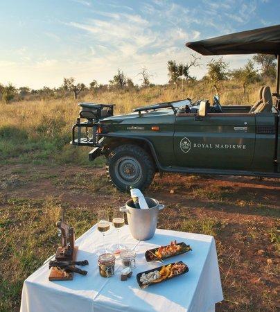 Royal Madikwe Luxury Safari Lodge: Game Drive Snacks