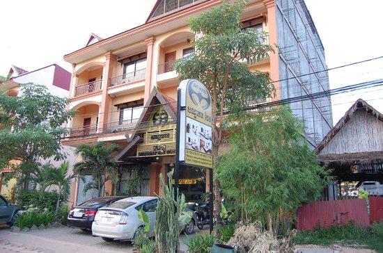 Siem Reap Bat Hotel: ホテル外観