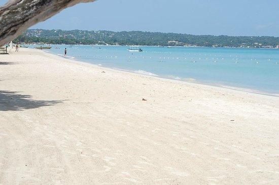 Negril Tree House Resort: beach
