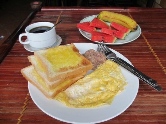 Hanoi Hostel: Tada!!! our daily breakfast!!!