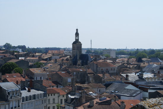 Le Donjon de Niort: View from the top of the Donjon