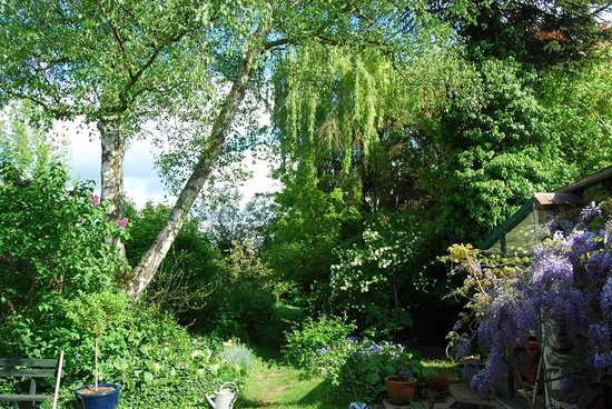 Bed & Beige: Garden