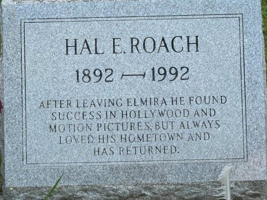 Woodlawn Cemetery of Elmira: Hal Roach tomstone