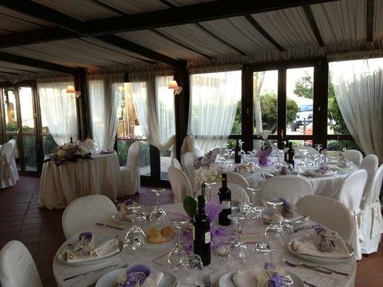 Villa Chandon: allestimento sala