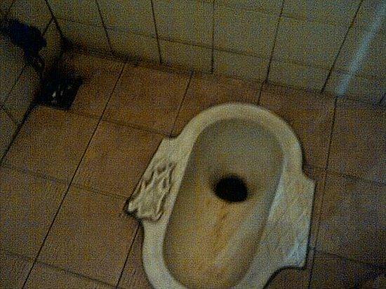 Hotel Hayam Wuruk: Super dirty toilet.