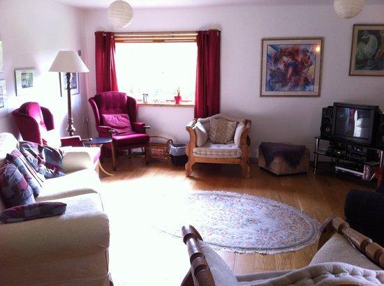 Slochd Mhor Lodge : living room